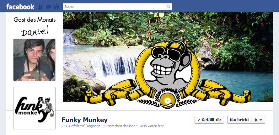 Screenshot Timeline Cover Funky Monkey