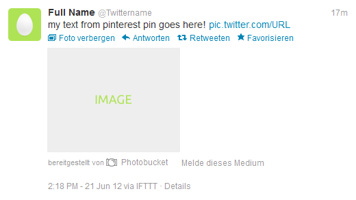 Screenshot Twitter Post - published via ifttt