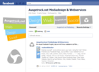 Screenshot Ausgetrock.net Facebook Fan Page Wall