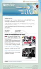 Screenshot Bacardi-Martini Newsletter