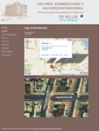 Screenshot Dachgeschossausbau Sommergasse Webseite - Lage
