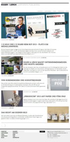 Egger & Lerch - Corporate Publishing - Website Screenshot