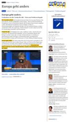 Europa geht anders! - Screenshot - Startseite