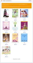 Yogaguide Buchwahl 2012 Screenshot Facebook App