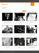 FeinkostMEDIA Website Screenshot - Portfolio