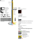 Screenshot Website Grienauer - Startseite
