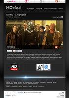 HDinfo Screenshot - HD TV Highlights