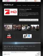 HDinfo Screenshot - HD TV Prosieben Austria