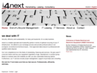 i4next Website Screenshot Frontsite EN