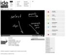 screenshot ide7fold website - frontpage