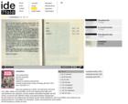 screenshot ide7fold website - literary