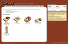 Screenshot Jelinek Partyservice Website - Übersichtsseite