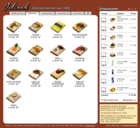 Screenshot Jelinek Partyservice Website - Shop