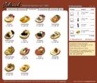 Screenshot Jelinek Partyservice Website - Bestellübersicht