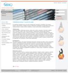 Screenshot MHC Business Language Training Website - Slovenian
