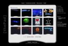 Screenshot ThePad Website - Showroom