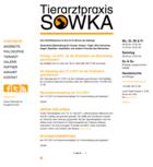 Screenshot Tierarztpraxis Sowka Startseite