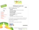 Screenshot Yogadatenbank Website - Top Eintrag