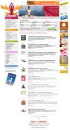 Screenshot Yogaguide Website - Blog