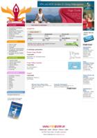 Screenshot Yogaguide Website - Angebot