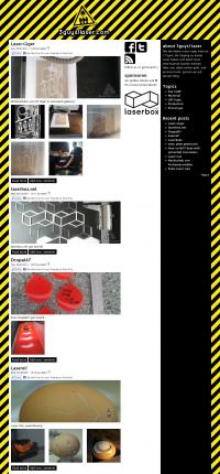 Screenshot 3guys1laser Website - Blog