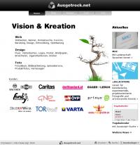 Screenshot Ausgetrock.net Startseite