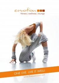 Fitness Emotion Imagemagazin Cover