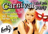 Funky Monkey Carnival Party Flyer