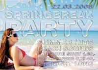Funky Monkey Springbreak Flyer