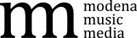 Logo Modena Music Media Schrift