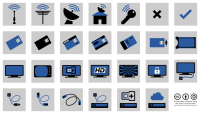 Overview all television pictograms