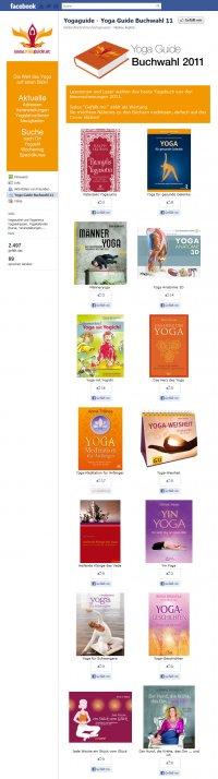 Yoga Guide Facebook Voting Tool Screenshot