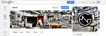 Google+ profile screenshot with a urban exploration picture