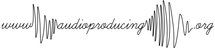 audioproducing logo thin