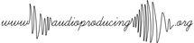 audioproducing logo thin