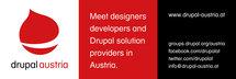Drupal Austria 3m x 1m Outdoor Poster