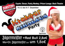Flyer Downtown Vienna - Krampus & Nikolaus Party