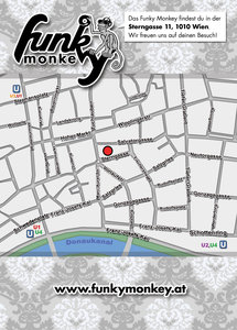 Funky Monkey Wochenplan Rückseite