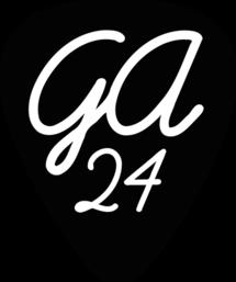 Guitar Academy 24 Logo Plektren
