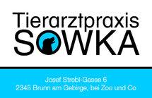 Tierarztpraxis Sowka Visitenkarte Rückseite - Hund