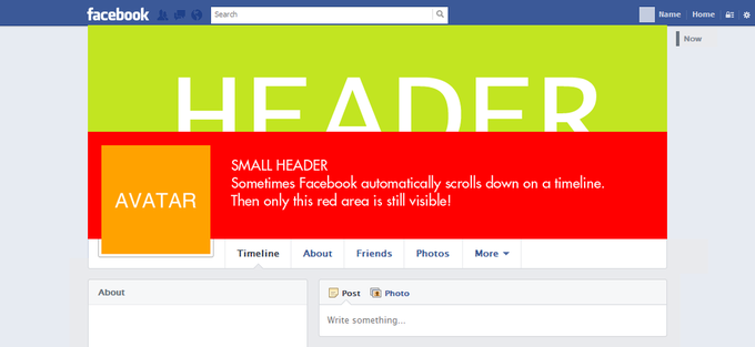 Facebook User Timeline Template with Helper Blocks v1.4