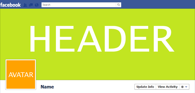 Facebook Timeline Areas