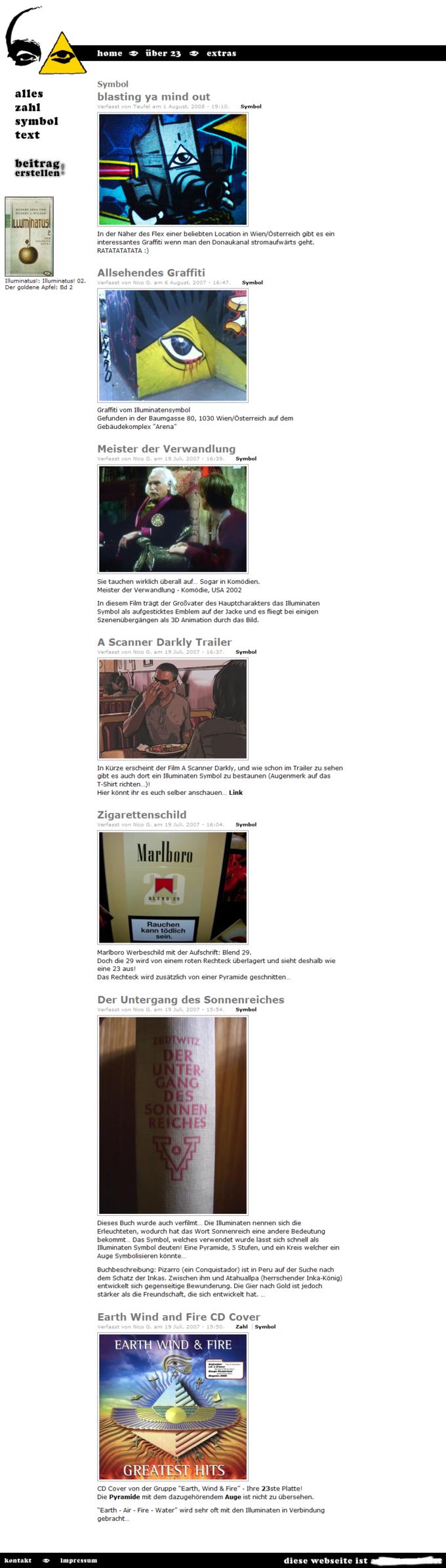 Screenshot 3und20 Website - Symbol 23
