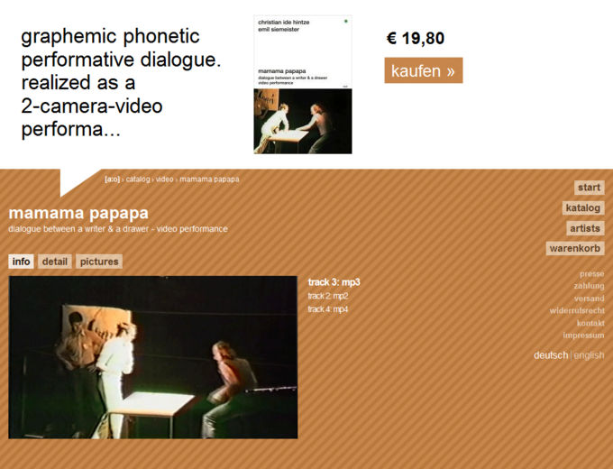 screenshot acolono website - Mamama Papapa