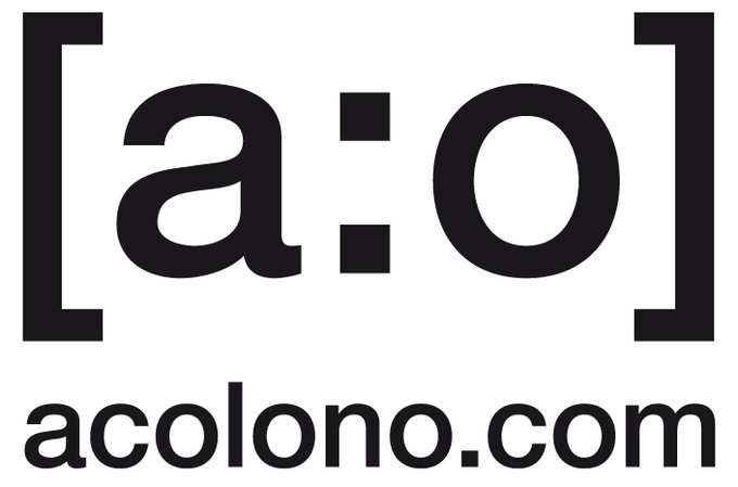 acolono logo with domain