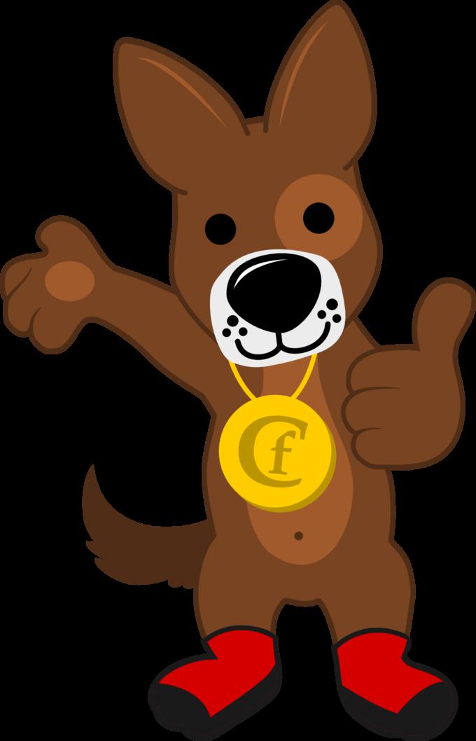 Canine Footwear Mascot