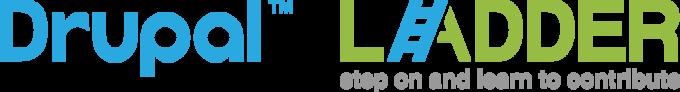 Drupal Ladder Logo HORRIZONTAL