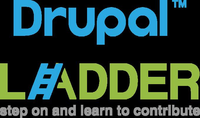 Drupal Ladder Logo VERTICAL