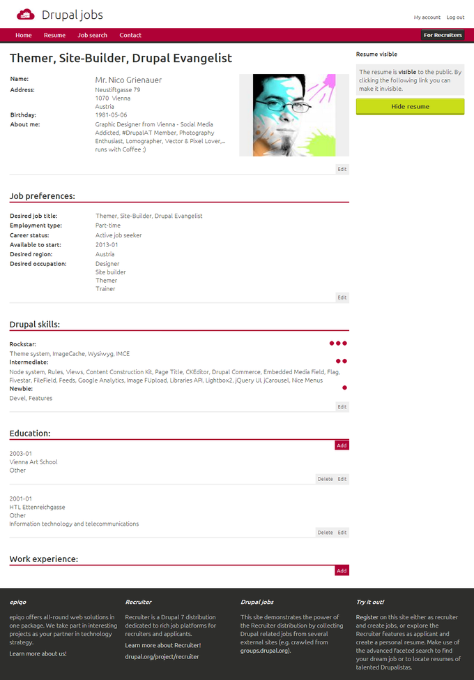 Screenshot Drupal Jobs - Profile View.png