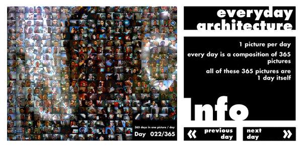 Screenshot Everyday Architecture - Start
